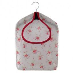 Dolly White PVC Peg Bag