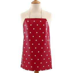 Childrens Dotty Red Apron