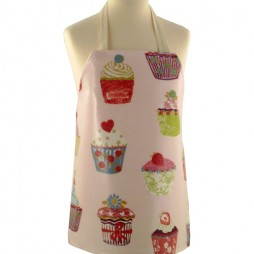 Childrens Cupcakes Strawberry Apron