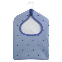 Stars Denim PVC Peg Bag