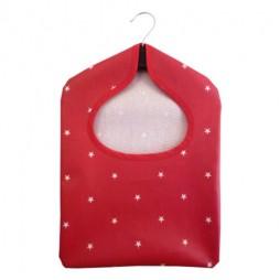 Stars Red PVC Peg Bag