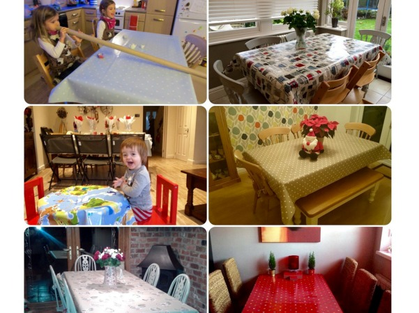 Tablecloth of the Month entries 2014