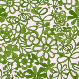 Hazy Days Apple Gloss Vinyl Coated Tablecloth