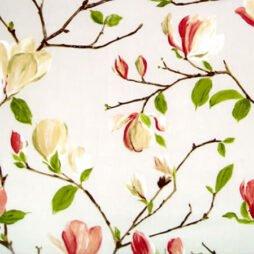 Magnolia Chintz Gloss Oilcoth