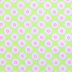 Maisy Lime Gloss Vinyl Coated Tablecloth