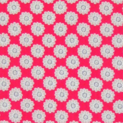 Maisy Raspberry Gloss Vinyl Coated Tablecloth