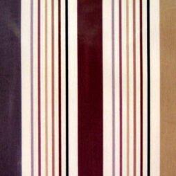 Sacramento Chocolate Gloss Vinyl Coated Tablecloth
