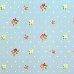 Blossom Powder Gloss Vinyl Coated Tablecloth