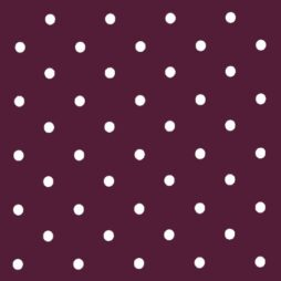 Dotty Mulberry Vinyl Coated Tablecloth
