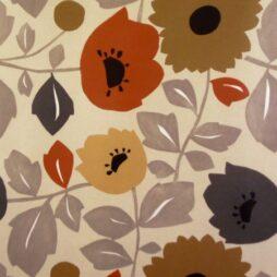 Phoebe Spice Matt Vinyl Coated Tablecloth