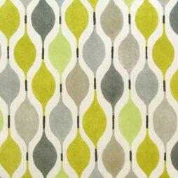 Verve Mustard Gloss Vinyl Coated Tablecloth