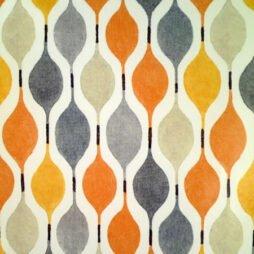 Verve Tango Gloss Vinyl Coated Tablecloth