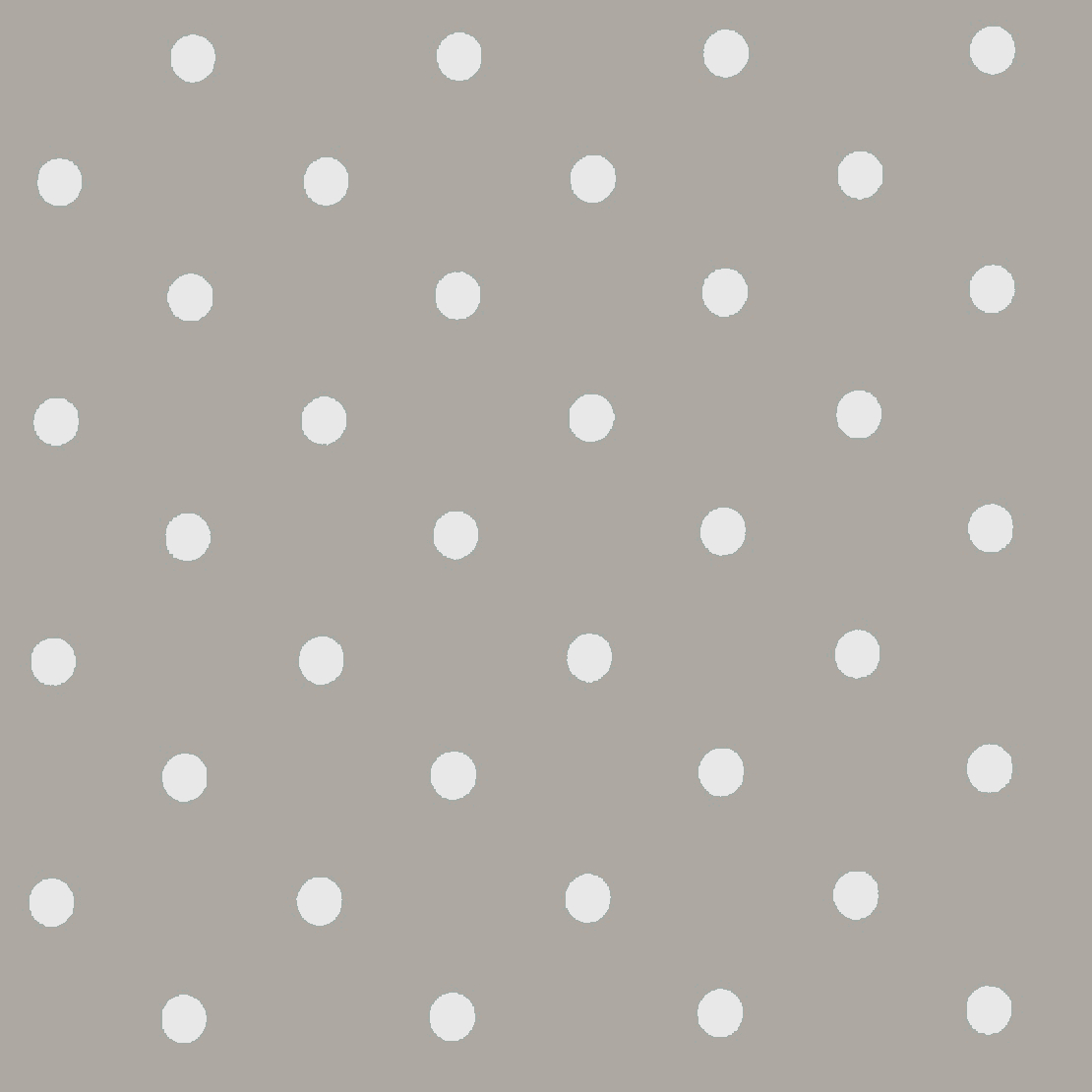 Dots Mushroom Gloss Vinyl Coated Tablecloths Just Wipe