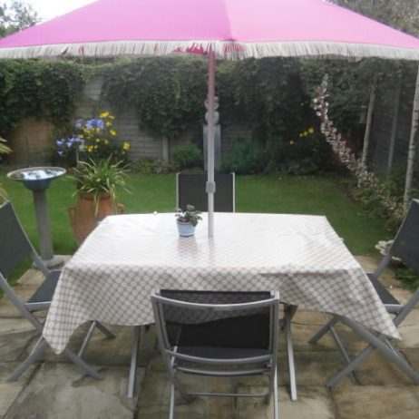 outdoor vinyl coated tablecloth