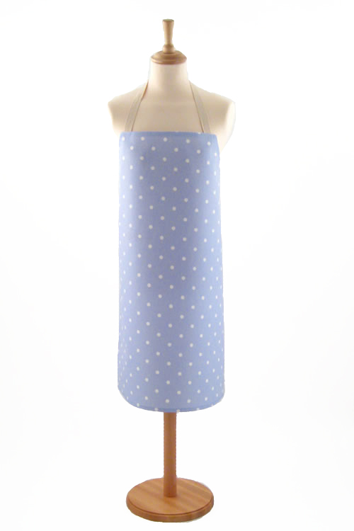 Adult PVC Apron Dotty Powder
