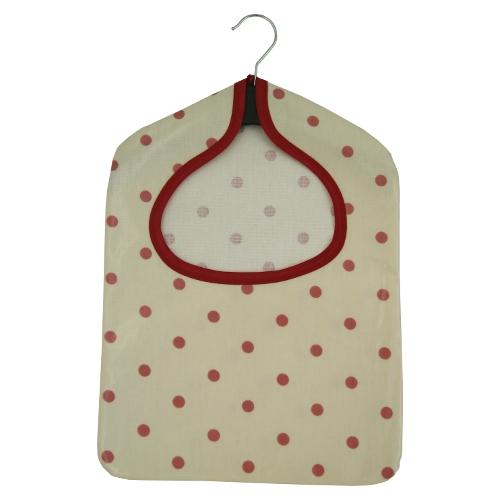 Dotty Cream/Rose PVC Peg Bag