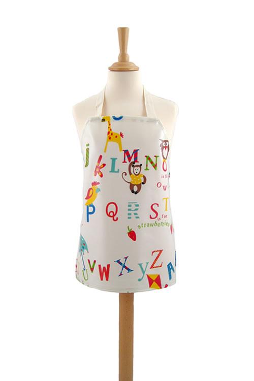 Childrens Alphabet Primary Apron