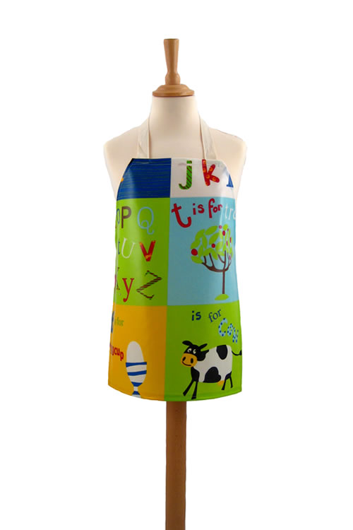 Childrens Letterbox Primary Apron
