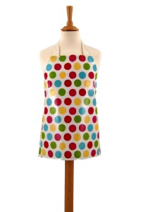 Childrens Multi Spot Chintz Apron