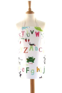 Childrens Alphabet Candy Apron