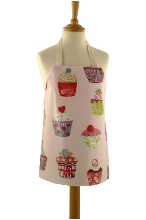 Childrens Cupcakes Strawberry Apron