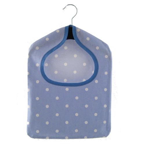 Dotty Powder PVC Peg Bag
