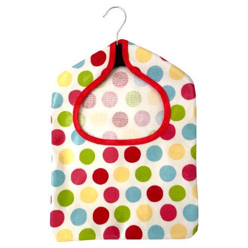 Multi Dot Chintz PVC Peg Bag