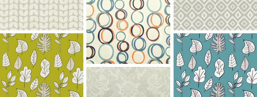 Modern vinyl coated tablecloths