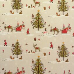 Christmas Vinyl Coated Tablecloths