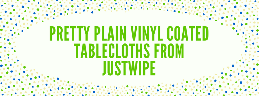 plain vinyl coated tablecloths
