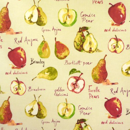 Autumn Fruit Matt Vinyl Coated Tablecloth