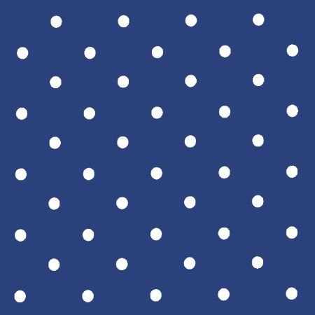 Dotty Denim Vinyl Coated Tablecloth
