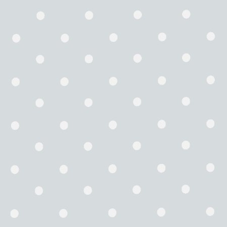 Dotty Grey Vinyl Coated Tablecloth