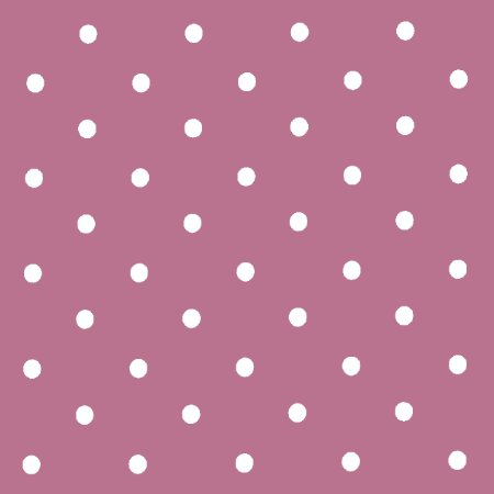 Dotty Mauve Vinyl Coated Tablecloth