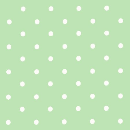 Dotty Seafoam Vinyl Coated Tablecloth