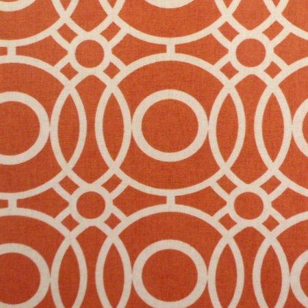 Eclipse Terracotta Matt Vinyl Coated Tablecloth