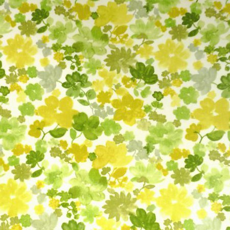 Fantasia Lime Gloss Vinyl Coated Tablecloth