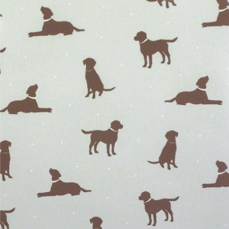Labrador Duckegg Gloss Oilcloth