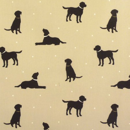 Labrador Taupe Gloss Vinyl Coated Tablecloth