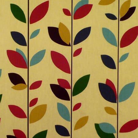 Miranda Ruby Gloss Vinyl Coated Tablecloth