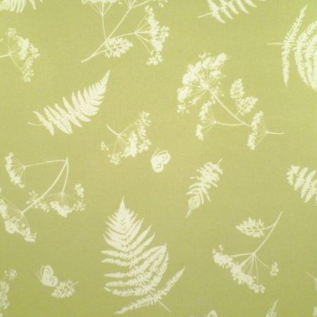 Moorland Sage Matt Vinyl Coated Tablecloth