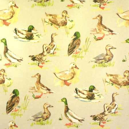 Quackers Matt Vinyl Coated Tablecloth