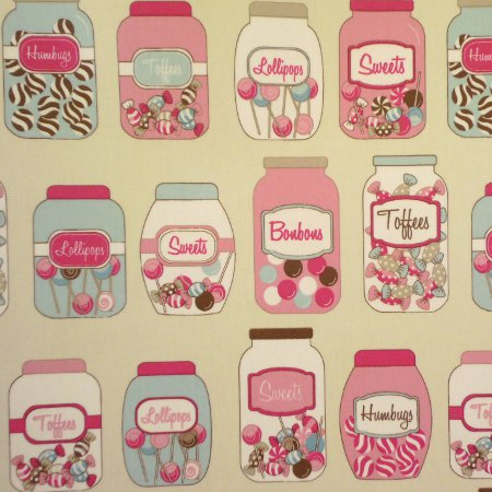 Sweetie Shop Gloss Oilcloth