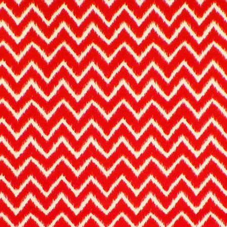 Ziggy Red Gloss Vinyl Coated Tablecloth