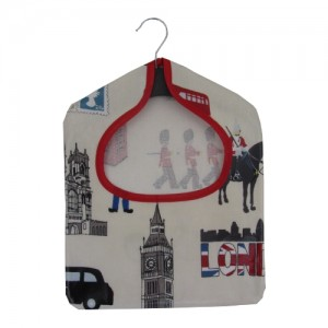 London PVC Peg Bag
